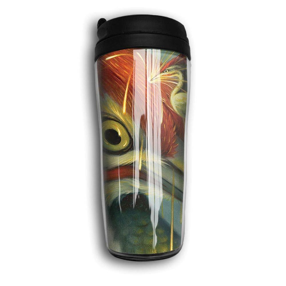 Woodpecker Artwork Travel Mug Coffee Thermos Stainless Steel Flask Water Bottle