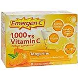Emergen-C Vitamin C Tangerine Flavored Drink Mix 30 Packets, 0.33 oz Review