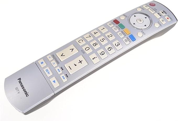 PANASONIC N2QAYB000027 IDTV LCD mando a distancia VIERA: Amazon.es ...