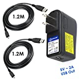 T-Power (TM) (2 Amp) 2A Quick Charger for Anker Portable Battery / EZO Portable Battery / Zagg Portable Battery / iGO MICPWRBST / MILI CRYSTAL / Motorola P793,Verizon Jetpack 4620L / Sprint / samsung