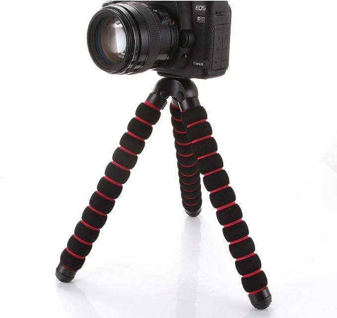 Soporte de trípode Flexible para cámara réflex Digital Canon Nikon ...