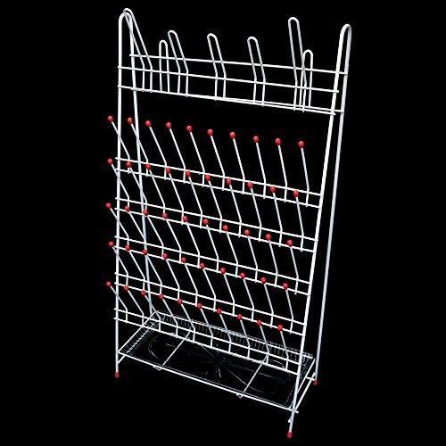 Economy Draining Rack - Lab Rack