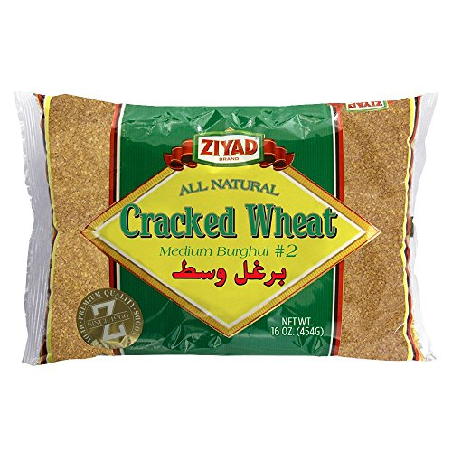 Ziyad Cracked Wheat #2 Medium 16 OZ, (Pack 1)