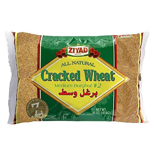 Ziyad Cracked Wheat #2 Medium 16 OZ, (Pack 1) -