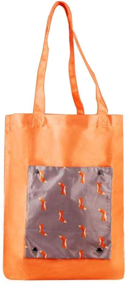Nouveau Femmes Pliable Hangbag Shopping Sac Bandoulière Eco épicerie Stockage Sac Fourre-tout