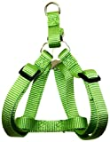 Hamilton Adjustable Easy-On Step-In Style Dog Harness, 3/4-Inch by 20-30-Inch, Medium, Lime Green, My Pet Supplies
