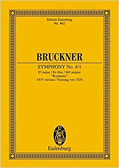 Symphony No. 4/1: E-Flat Major / Es-Dur / Mi-Flat Majeur: