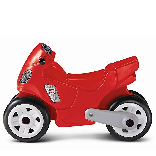 Step2 Riding Motorcycle for Toddler -  Durable Ride On Bike Toy, (Police Balance Bike)