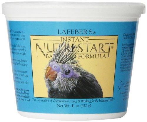Lafeber's Nutri-Start Hand feeding formula for Baby Birds 11-Ounce Tub by Lafeber