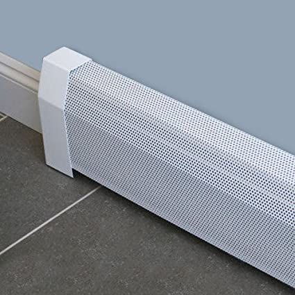 Baseboarders Baseboard Heater Cover Straight Kit 7ft Length