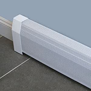 Baseboarders Baseboard Heater Cover Straight Kit 7ft ...