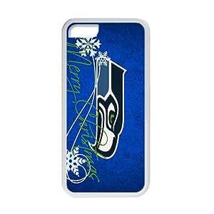 Wish-Store NFL seattle seahawks Phone case for iPhone 5c Kimberly Kurzendoerfer