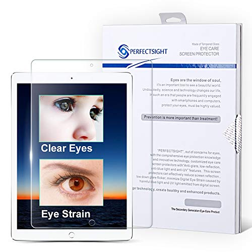 Best Price PERFECTSIGHT Screen Protector Compatible with iPad Pro 12.9 Inch [55% Anti Glare] Blue Li...