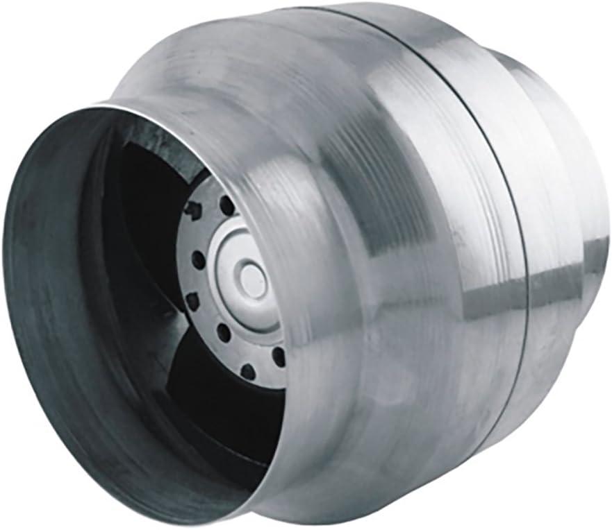 und Entl/üftung mit einer Luftf/örderleistung von bis zu 150 m3//h Kompatibel mit L/üftungsrohren mit Durchmesser 100 Hergestellt im EU Axiale Rohrventilatoren zur Be