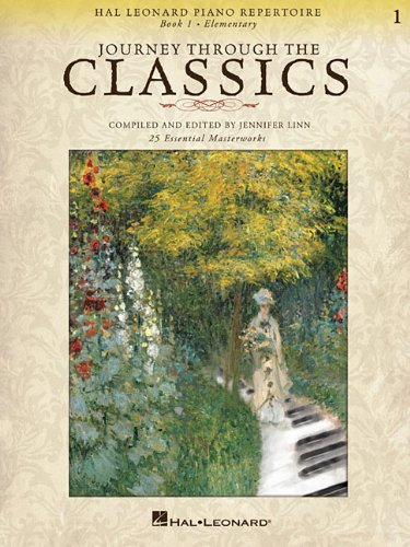 Journey Through the Classics 1 Guitar Repertoire TAB Music Book