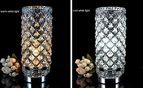 Crystal Silver Table Lamp by Surpass Lighting (Image #4)
