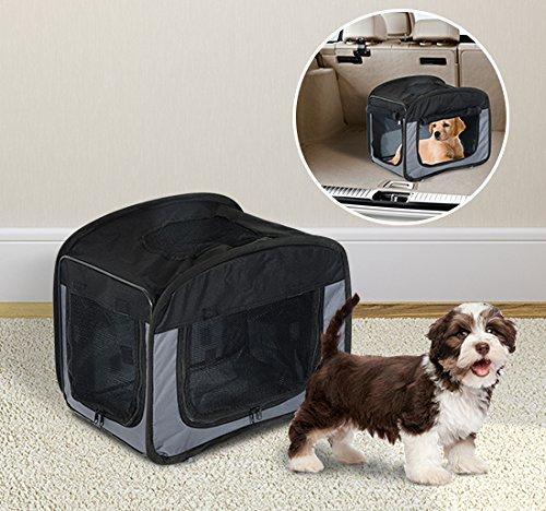 Pawhut borsa trasportino per cani e gatti pieghevole in for Trasportino per cani amazon