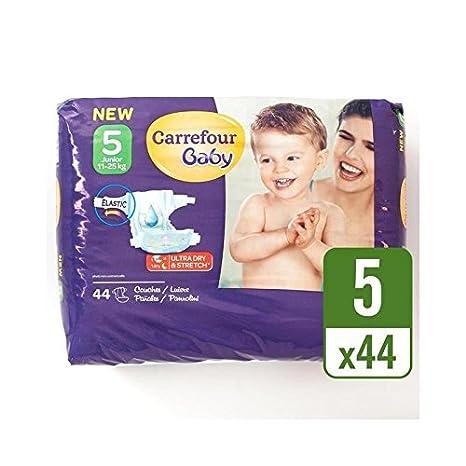 Carrefour Bebé Tamaño Ultra Seco 5 Pañales Paquete Esencial 44 Por ...