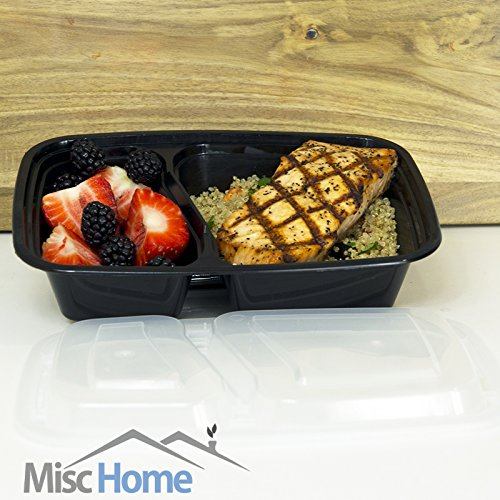 20-Pack-32-Oz-2-Compartment-Meal-Prep-Containers-Durable-BPA-Free-Plastic-Reusable-Food-Storage-Container-Microwave-Dishwasher-Safe-w-Airtight-Lid-For-Portion-Control-Bento-Box-Lunch-Box