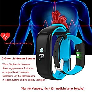 roguci oled fitness armband tracker uhr handgelenk. Black Bedroom Furniture Sets. Home Design Ideas