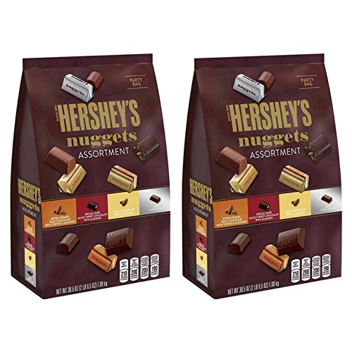 Hershey's Nuggets Assortment, 38.5 oz (Pack of (Daily Health Nuggets)