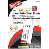 Digital Small Raffle / Event Tickets 200 Pack