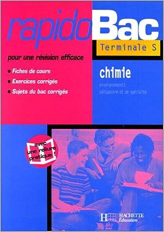 En ligne téléchargement gratuit Rapidobac : Chimie, Terminale S pdf, epub ebook