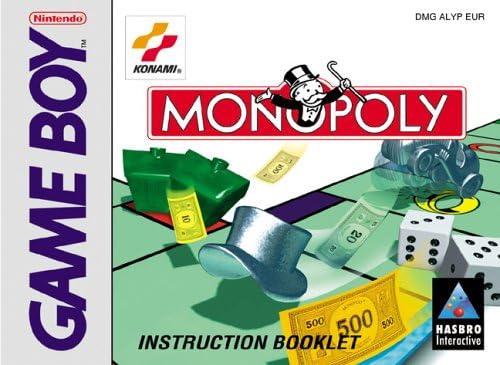 Monopoly [Game Boy] [Importado de Francia]: Amazon.es: Videojuegos