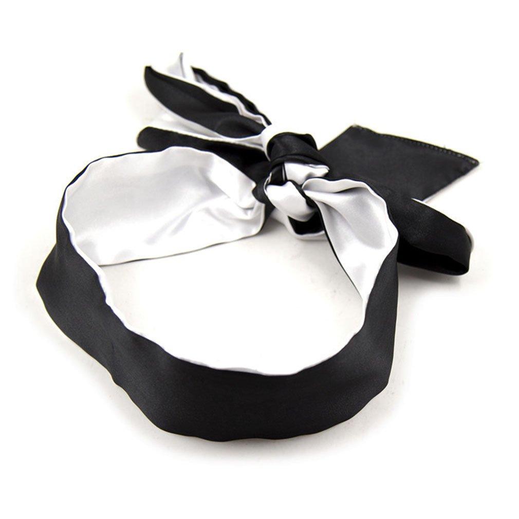 Vivilover Bondage Ties Satin Eye Mask Sleeping Blindfold for Women