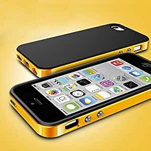 SOL Simple Design TPU and PC Case for iPhone 5/5S (Assorted Colors)
