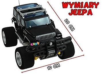 Cargador de ruedas de espuma de radio RC del JEEP: Amazon.es: Juguetes y juegos