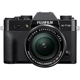 Fujifilm X-T10 Black Mirrorless Digital Camera Kit with XF18-55mm F2.8-4.0 R LM OIS Lens (Old Model)