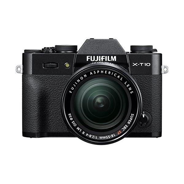 51Z33lEboCL. SS600  - Fujifilm X-T10 Black Mirrorless Digital Camera Kit with XF18-55mm F2.8-4.0 R LM OIS Lens (Old Model)