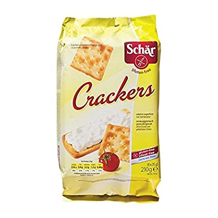 Dr schär – sin gluten – Crackers de mesa 210 gr X 3 cajas ...