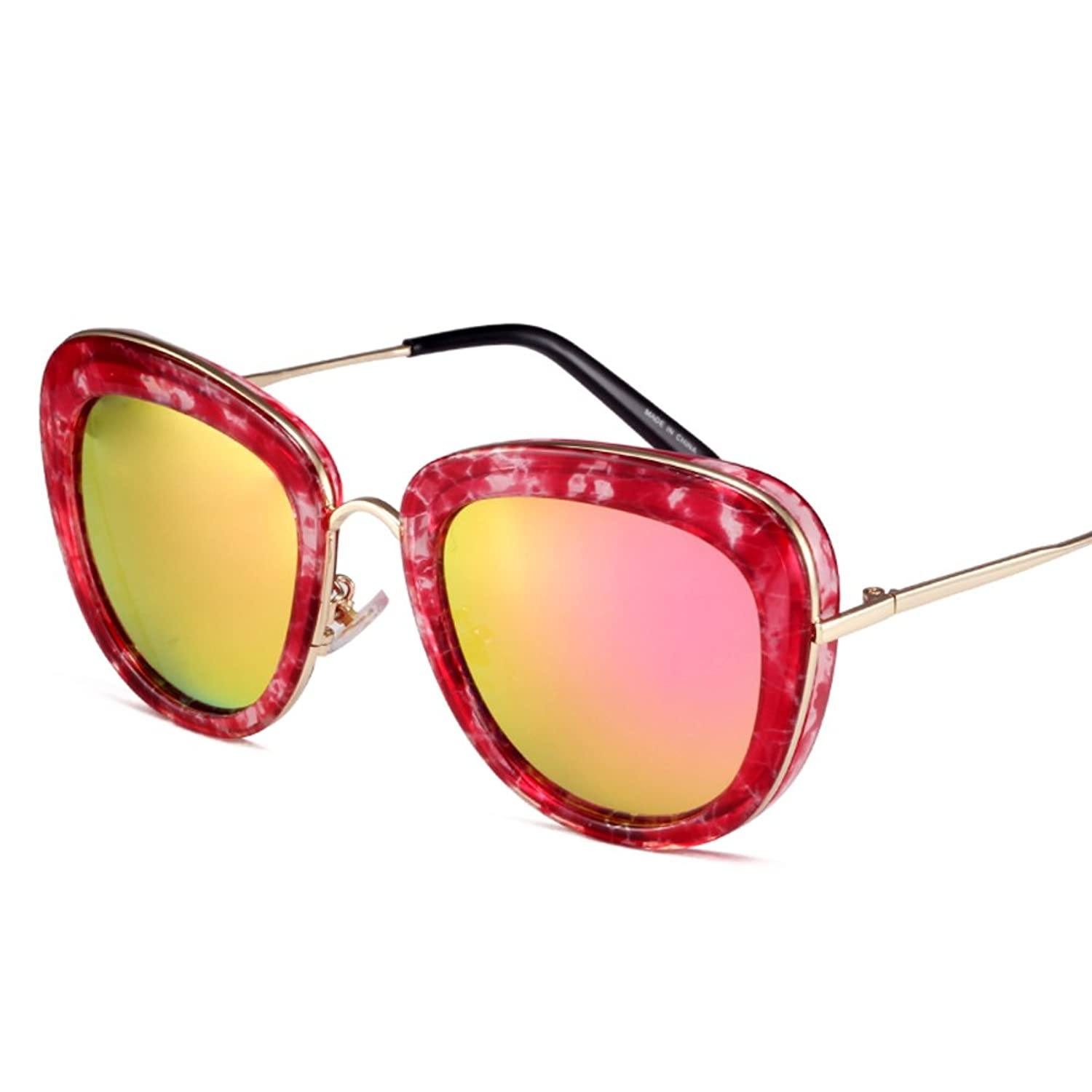 Korean version of the round face glasses/Stylish avant-garde sunglasses/Boxes mirror