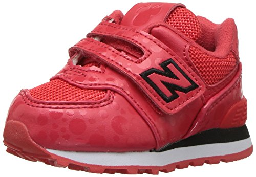 Rosso bianco Cn Sneakers Balance Infant Iv574 Velcro New nxCaYqTvfx