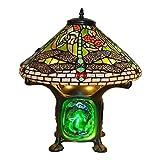 Tiffany Style Dragonfly Green Lava Lamp