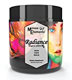 Mosea Elements All Natural Radiance – Hair Skin And Nails Vitamins All Natural With Goji Berries Organic And Wild Harvested Herbs Antioxidant Collagen Boosting For Men And Women