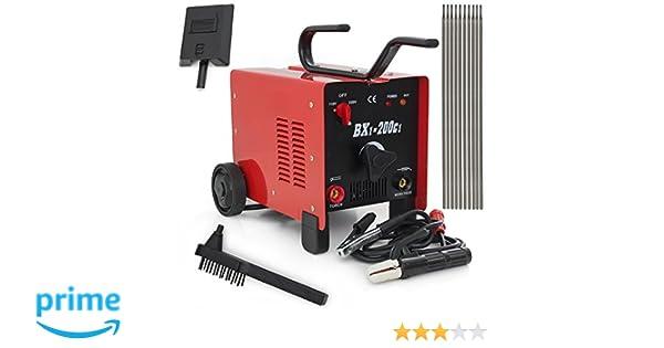 ATE Pro. USA 97853 200 Amp Arc Welder Machine, 15.35