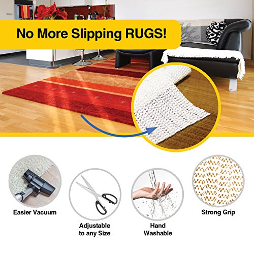 My Cozy Home Rug Gripper, 2x3-Feet Area, Washable Non Slip ...
