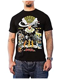 Green Day T Shirt 1994 Tour Dookie Official Vintage Mens Black