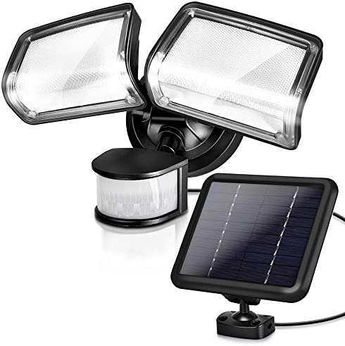LED Solar Security Light, XMCOSY Super Bright 1000LM Outdoor Flood Light Motion Sensor Light, 5730K, IP65 Waterproof