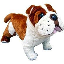 "ADORE 14"" Standing Buddy the Farting Bulldog Plush Stuffed Animal Toy"