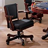 Mitchell Game Arm Chair in Cherry Finish by Coaster