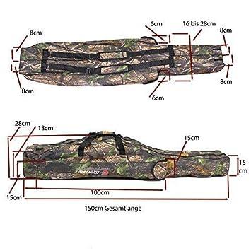 tasche-150cm-1-7 Angeltasche Rutentasche Rutenfutteral Angelkoffer 1,5m