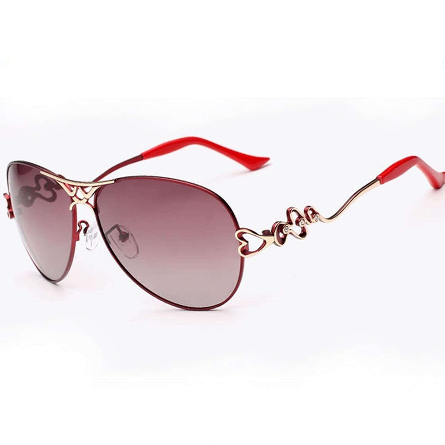LuxuryLady-3 Sexy Lady Bend Flower Necessary in Summer Fashion Women Driving Travel Sunglasses
