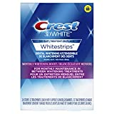 Crest 3D White Whitestrips Monthly Whitening Boost, 12 Treatments, packaging may vary