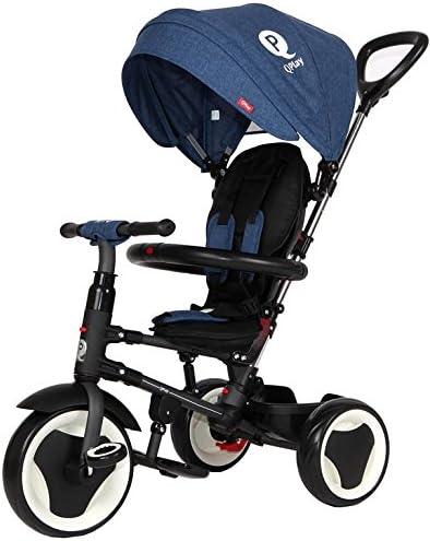 Multicolore Sun Baby J01.013.1.3 Triciclo Qplay Rito-Blue