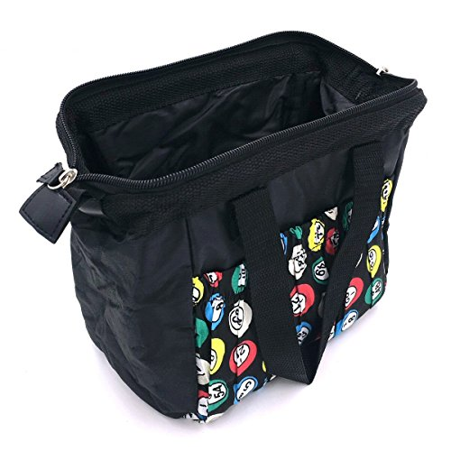 Tapp Collections Bingo Dauber 6 Pockets Tote Bag - Black