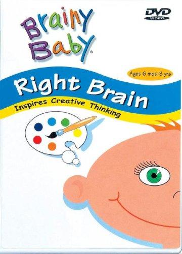 Brainy Baby Right Brain Dvd - Right Brain: Inspires Creative Thinking